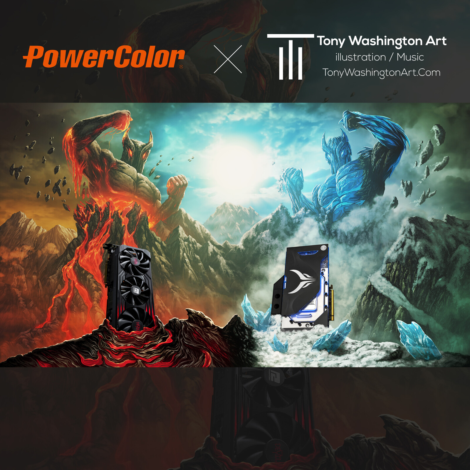 Powercolor 1 of 2 + Time Laspe
