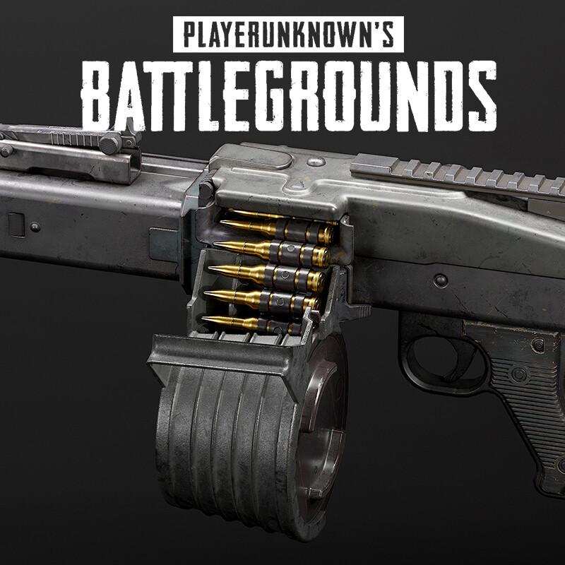 Playerunknown's Battlegrounds: MG3