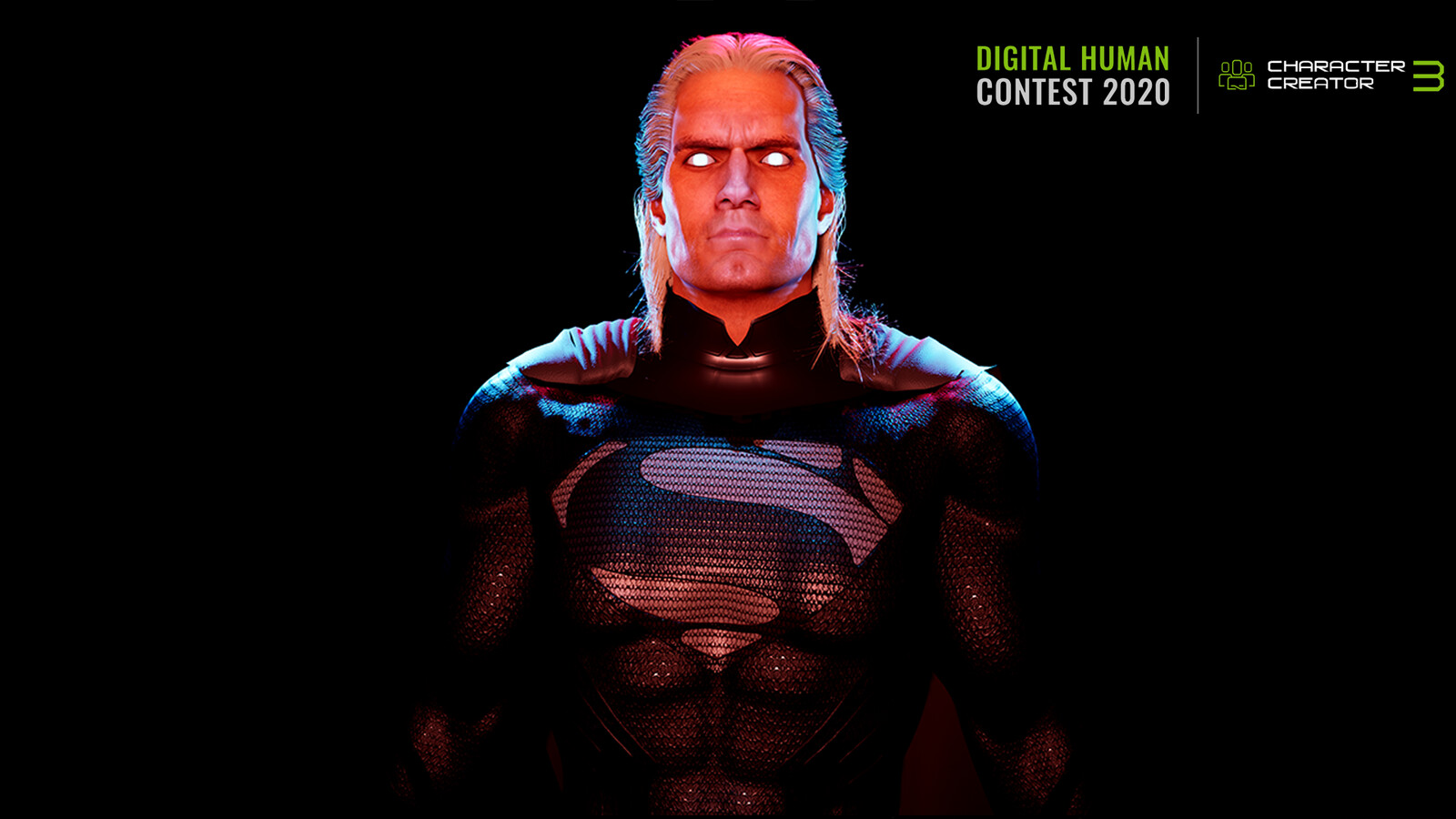 CC Digital Human Contest - The Witcher / Man of Steel Animation