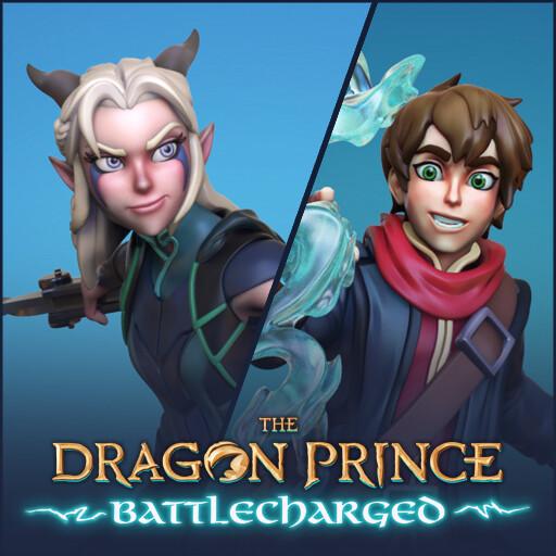 Dragon Prince Battlecharged - Rayla and Callum
