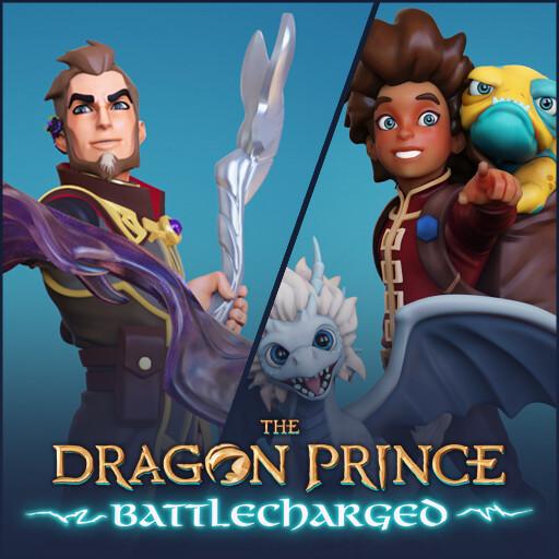 Dragon Prince Battlecharged - Ezran vs Viren