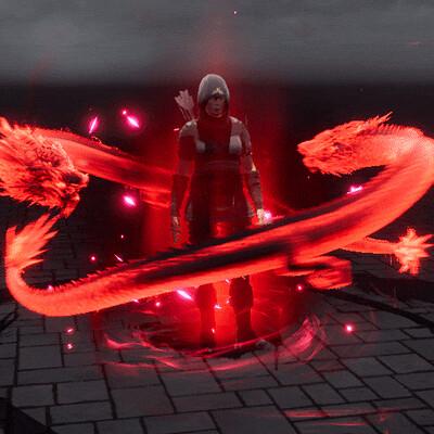 Vladyslav horobets vladyslav horobets dragon aura mythic