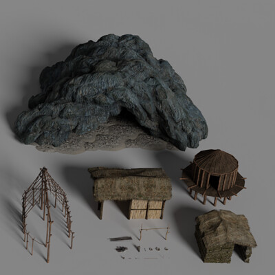 10000 BC - Deezl Asset Pack