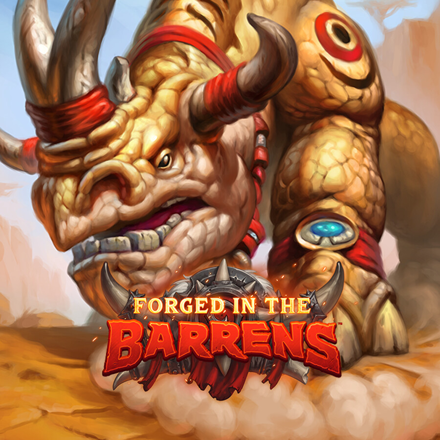 Hearthstone: Forged in the Barrens - Druid of the Plains, Kodo