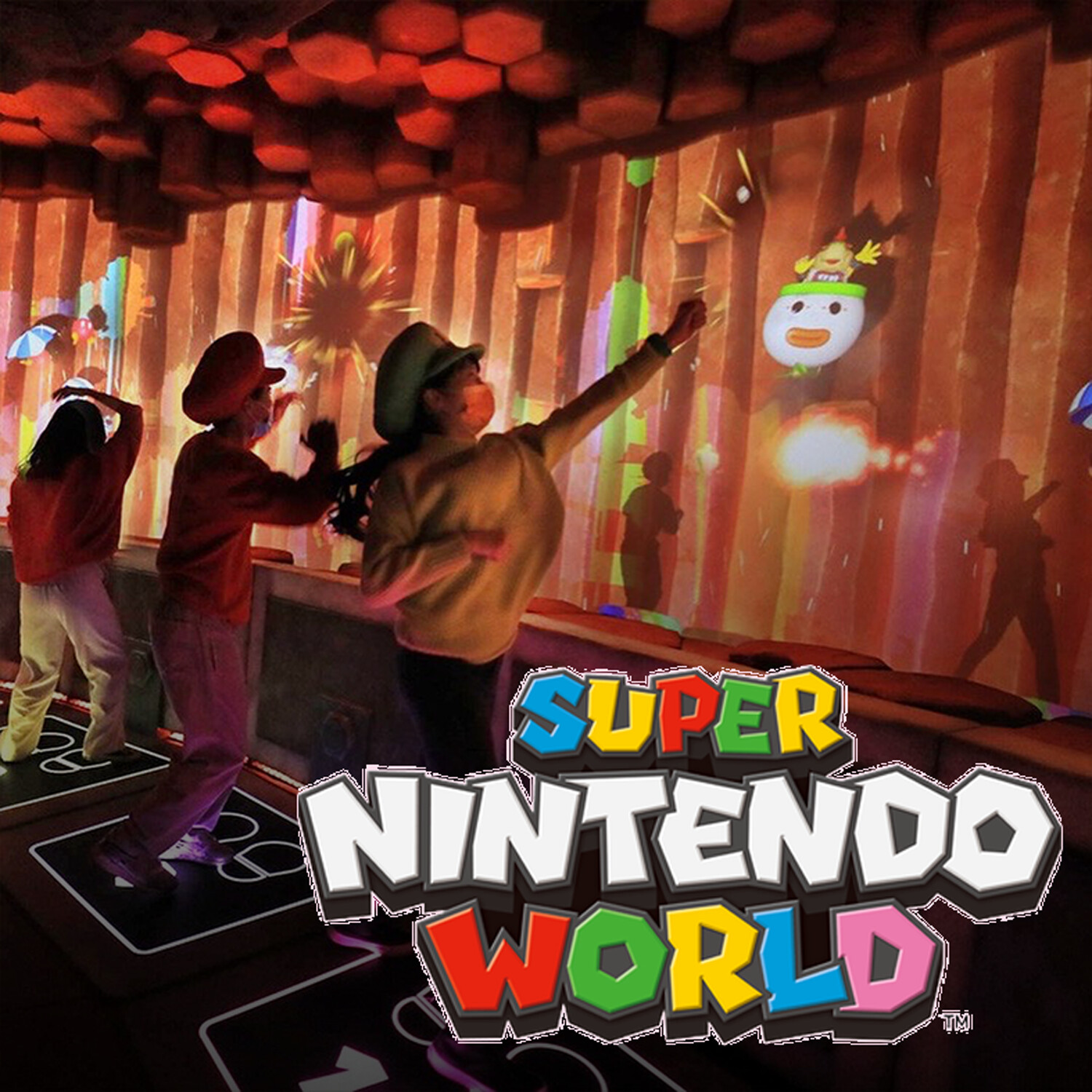Super Nintendo World: Land and Mini Games