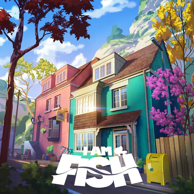 I am Fish : Street view
