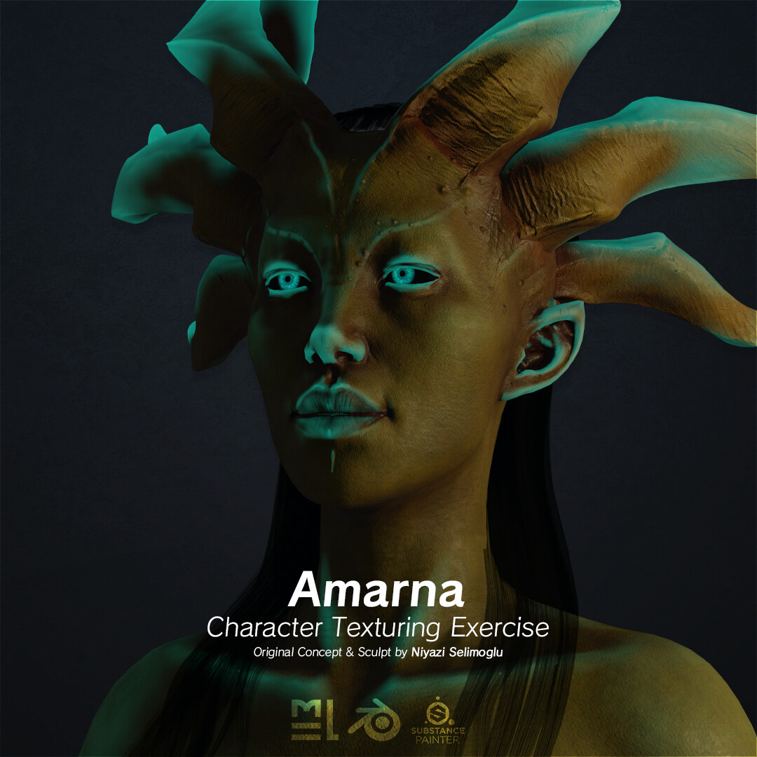 Amarna - Character Texturing Exercise