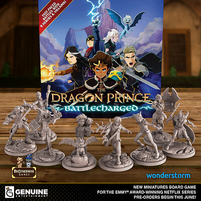The Dragon Prince: Battlecharged - Initial 3D Development