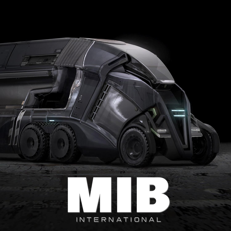 Men in Black International: Containment Truck