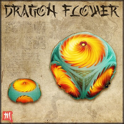 Dragon Flower Procedural Material