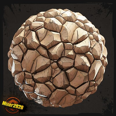 Borderlands Rocks Material