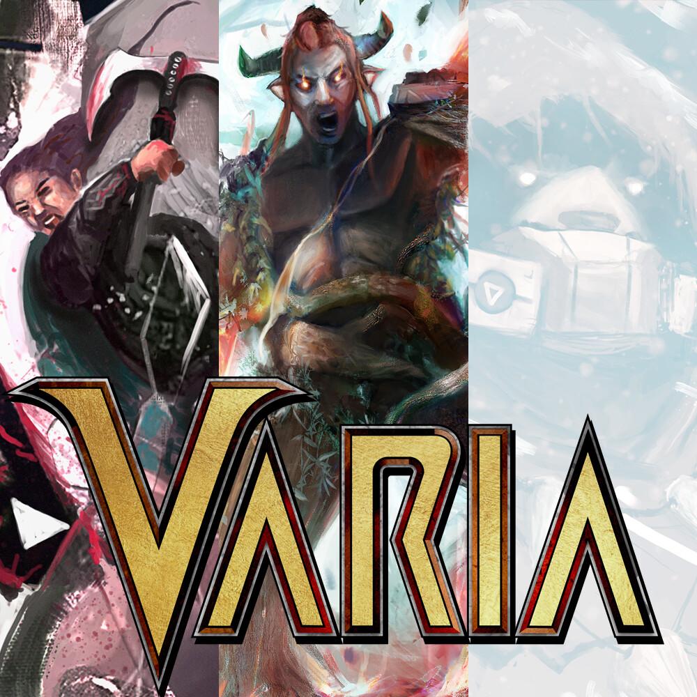 Varia - Illustration Set #1