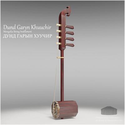 Michael klee michael klee dund garyn khuuchir mongolia string instruments 3d model by michael klee 4