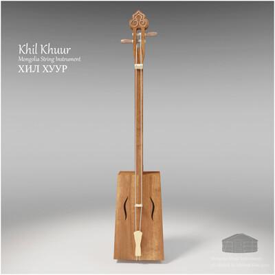 Michael klee michael klee khil khuur mongolia string instruments 3d model by michael klee 4