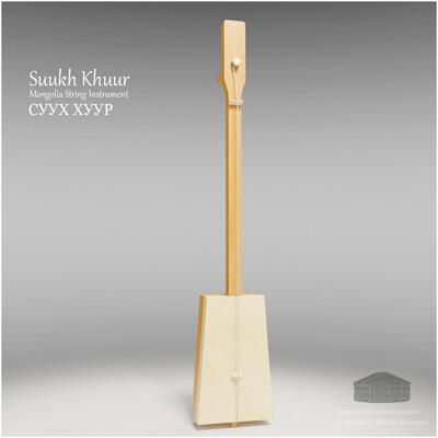 Michael klee michael klee suukh khuur mongolia string instruments 3d model by michael klee 4