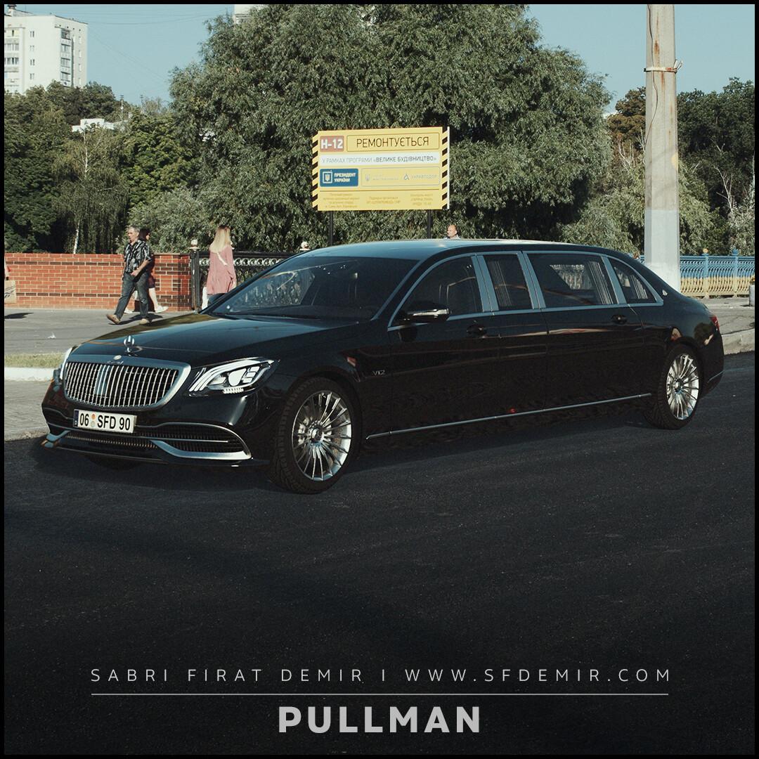 Mercedes Benz Maybach Pullman S600