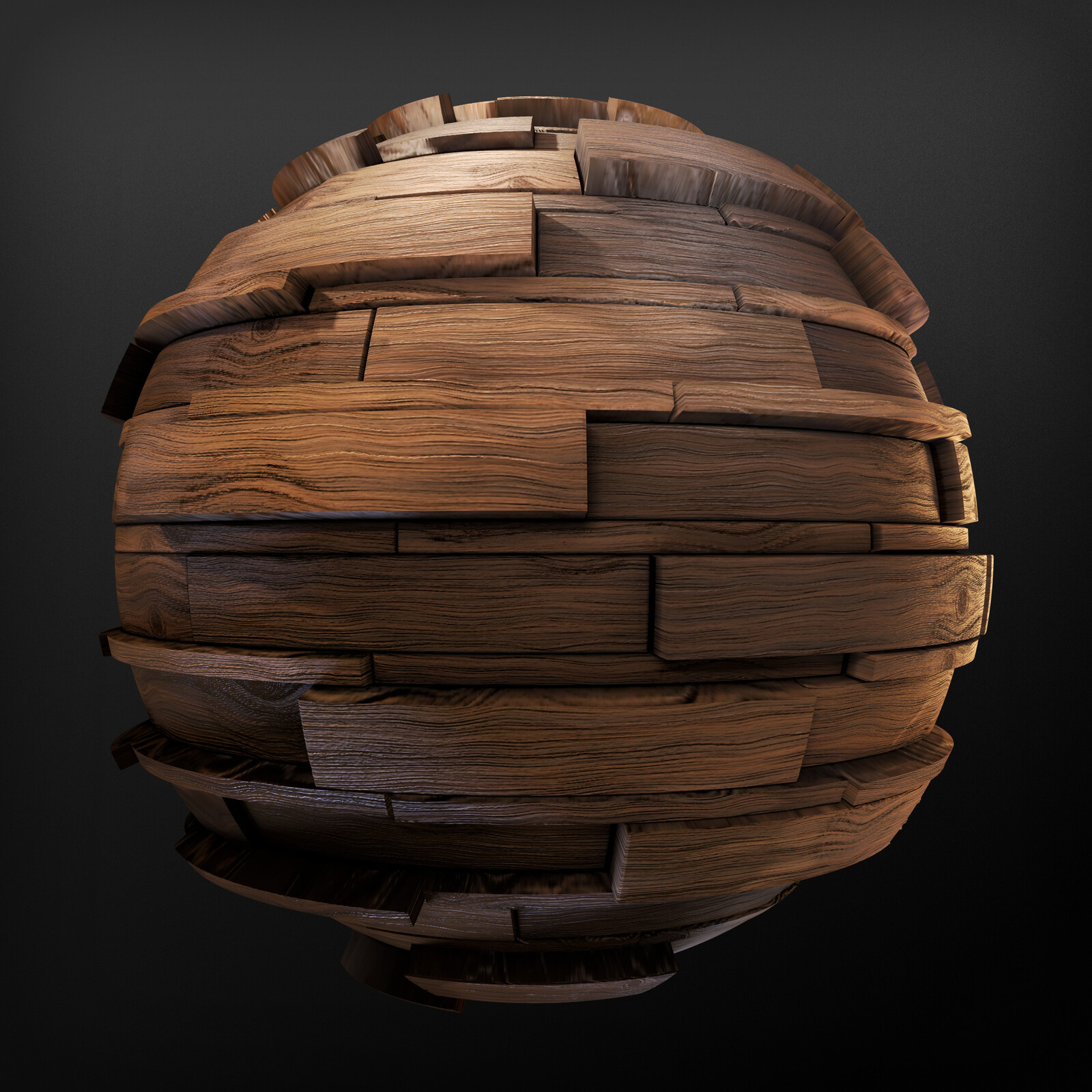 Architectural Wood - Substance Material