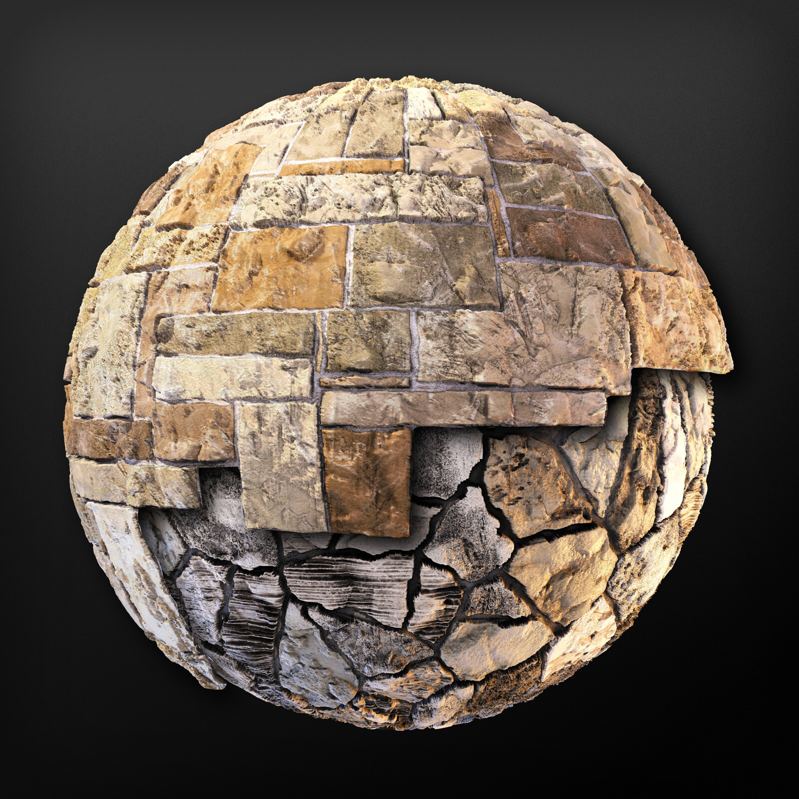 Architectural Stone - Substance Material