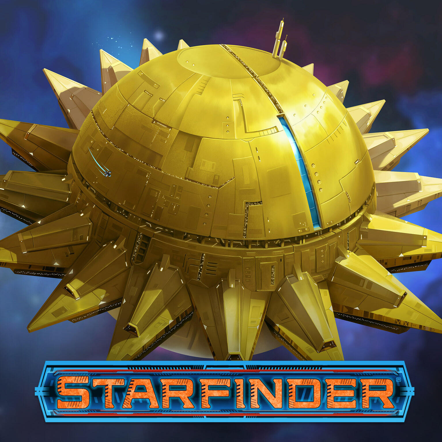 Starfinder Ships and Art  - Fly Free or Die