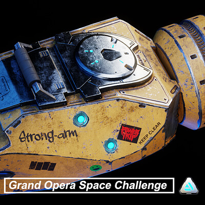 Strong-arm: Grand Space Opera