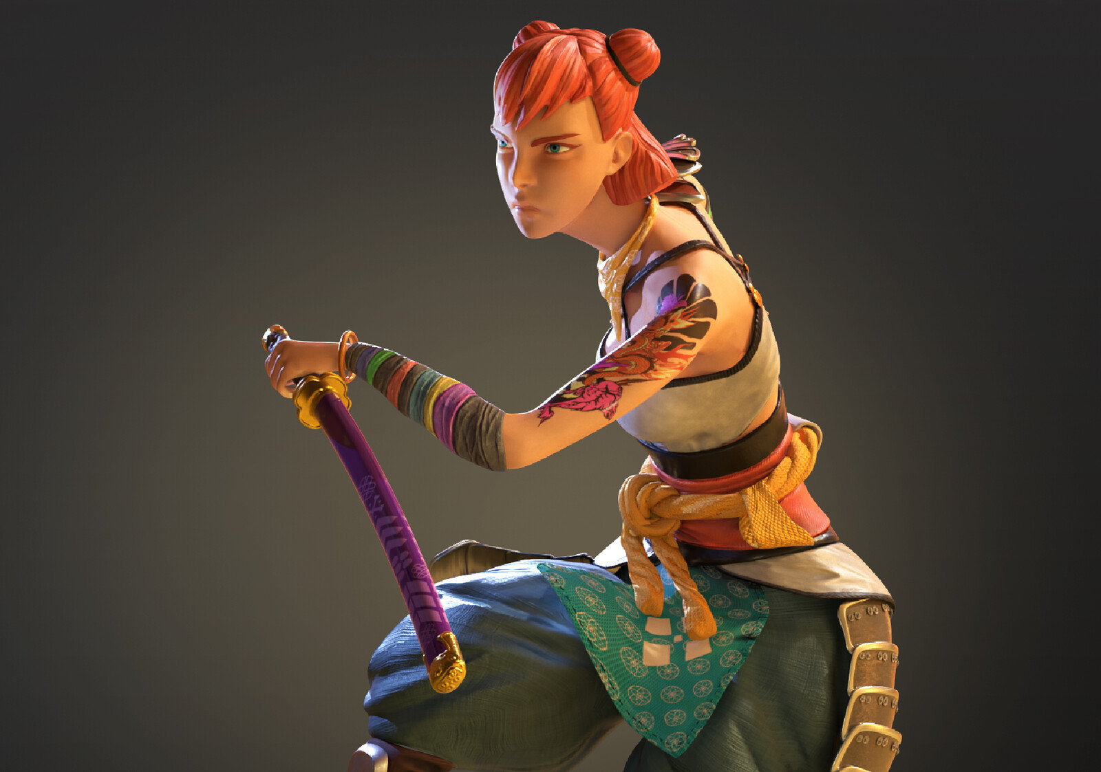 Akiyo The Samurai Girl
