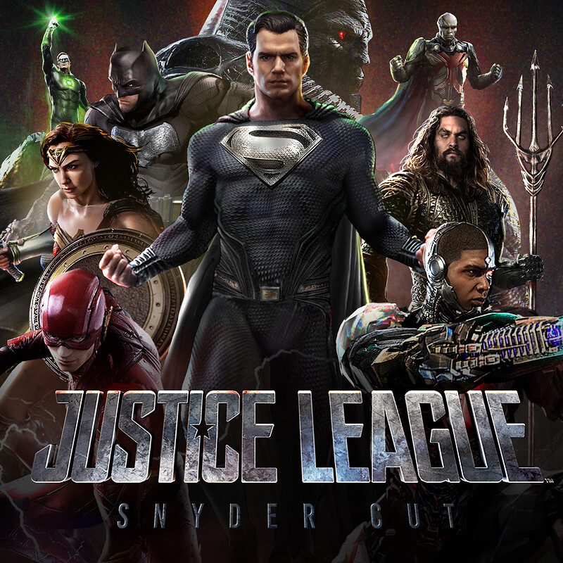 Justice League - Snyder Cut Illustration