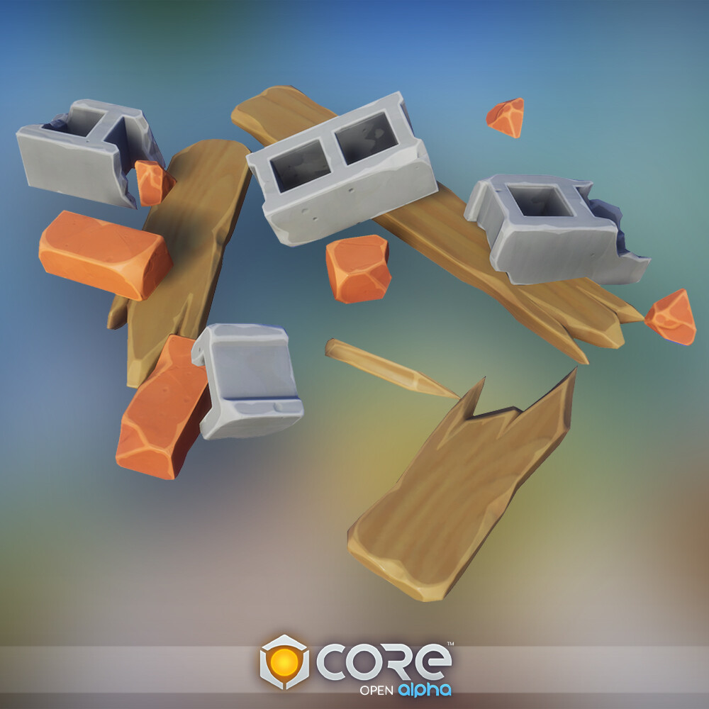 Core - Urban/Military Props