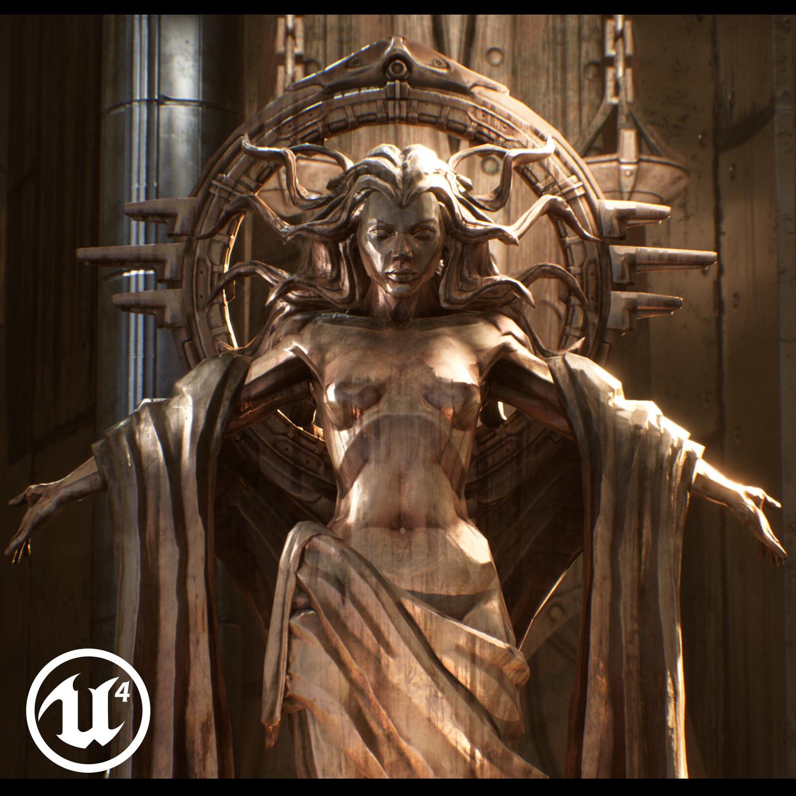 Courtyard of judgement -Infiltrator Demo Re-light