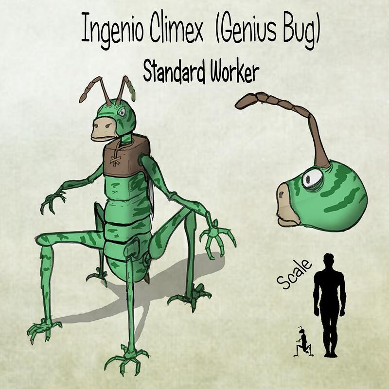 Genius Bug Concept
