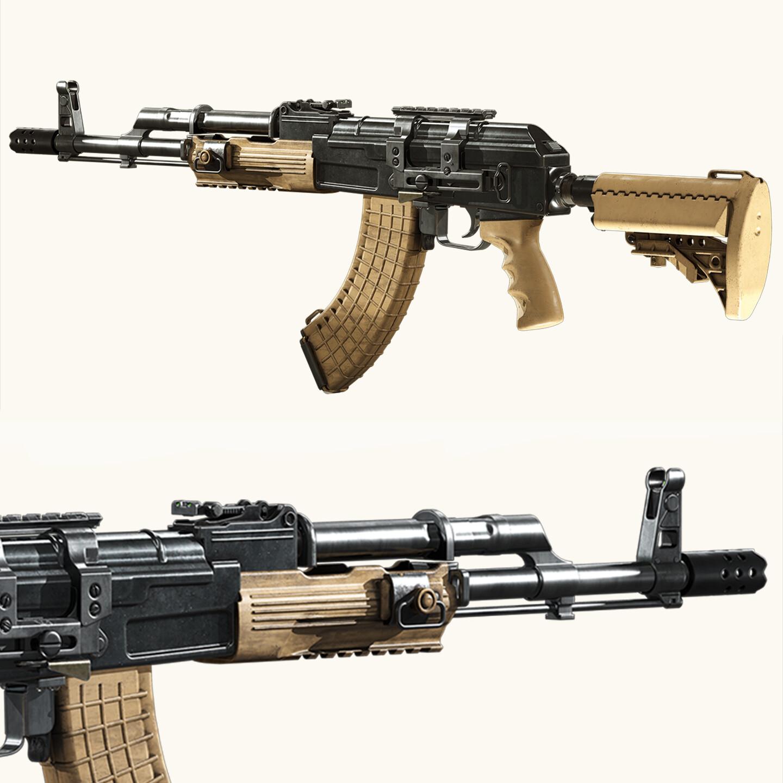 Ak 47 Cod Mw2