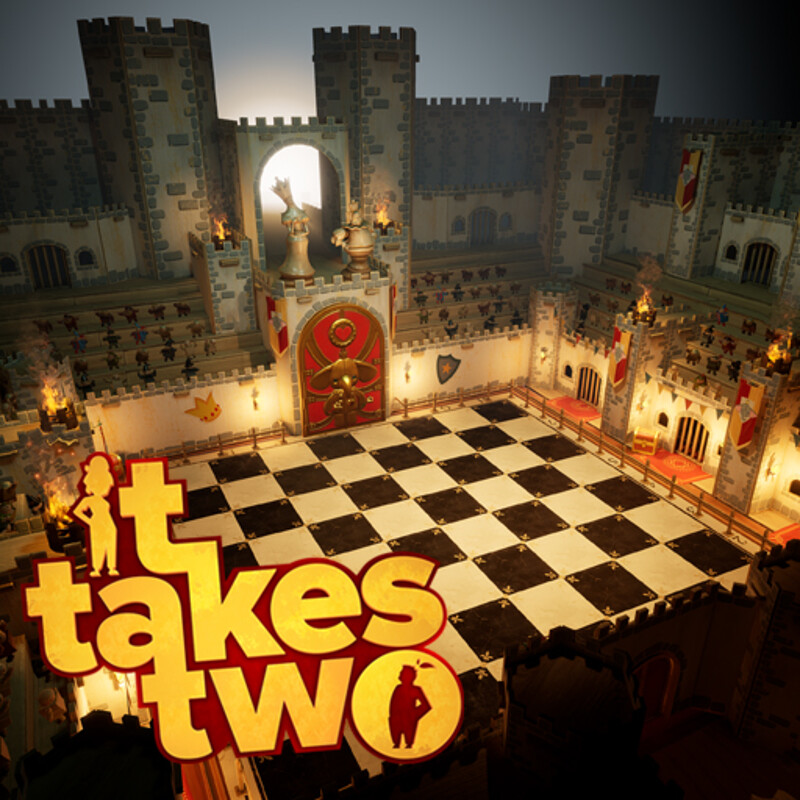 It Takes Two - Rose's Room - Chessboard