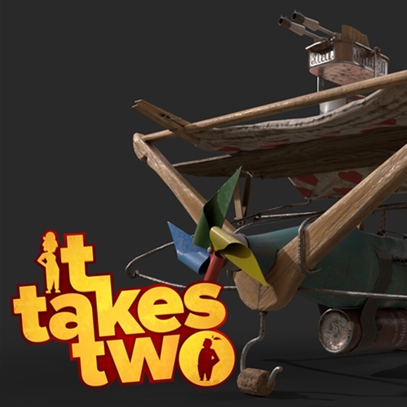 It Takes Two - Squirrels' Flying Machine