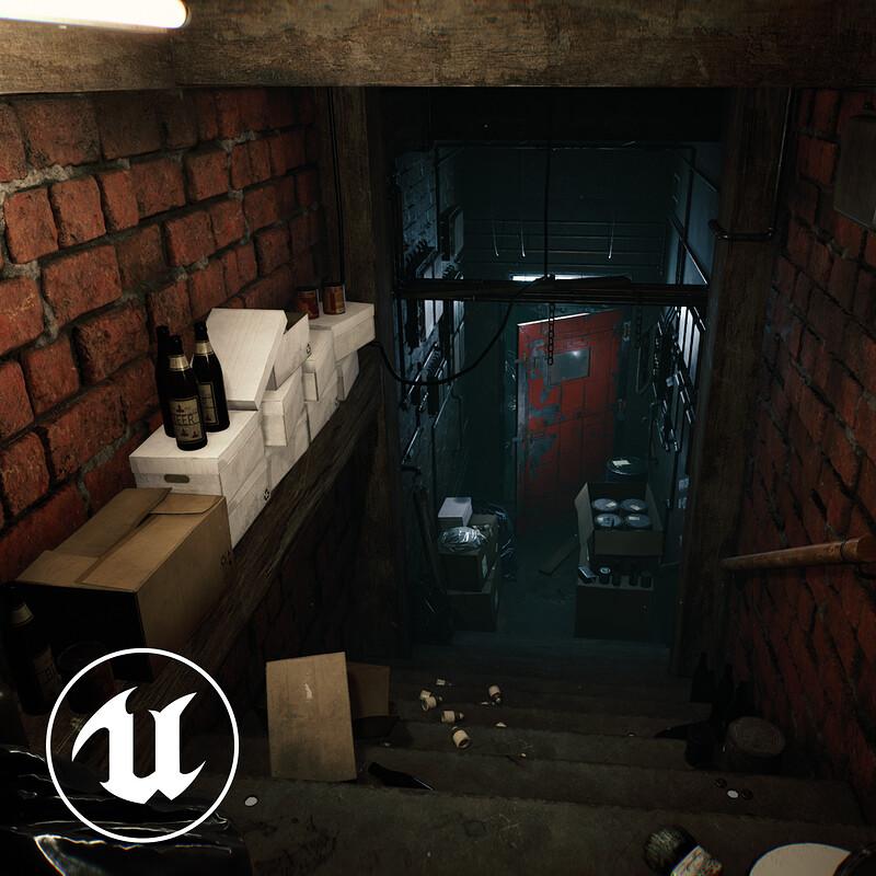 Horror Corridor - Unreal Engine 4