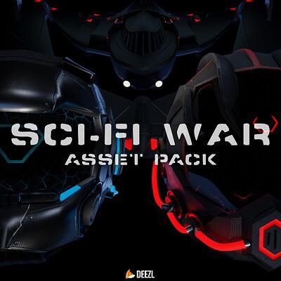 Sci-Fi War - Asset Pack