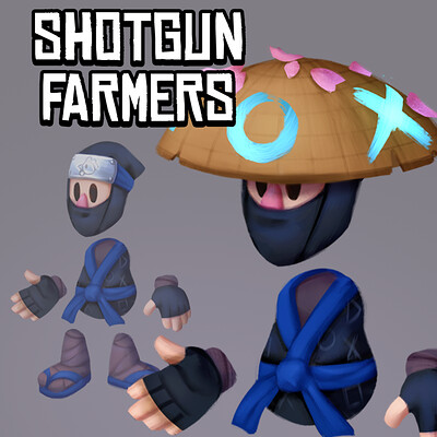 Shotgun Farmers: Playstation Exclusive Skin Concepts