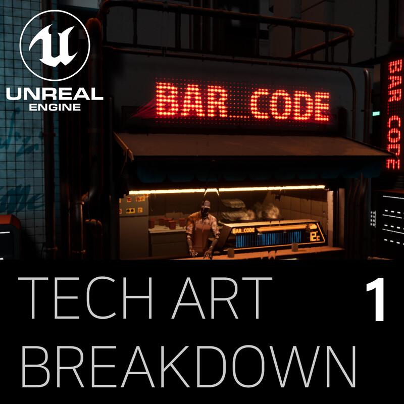 Bar_Code Technical Art Breakdown Part 1