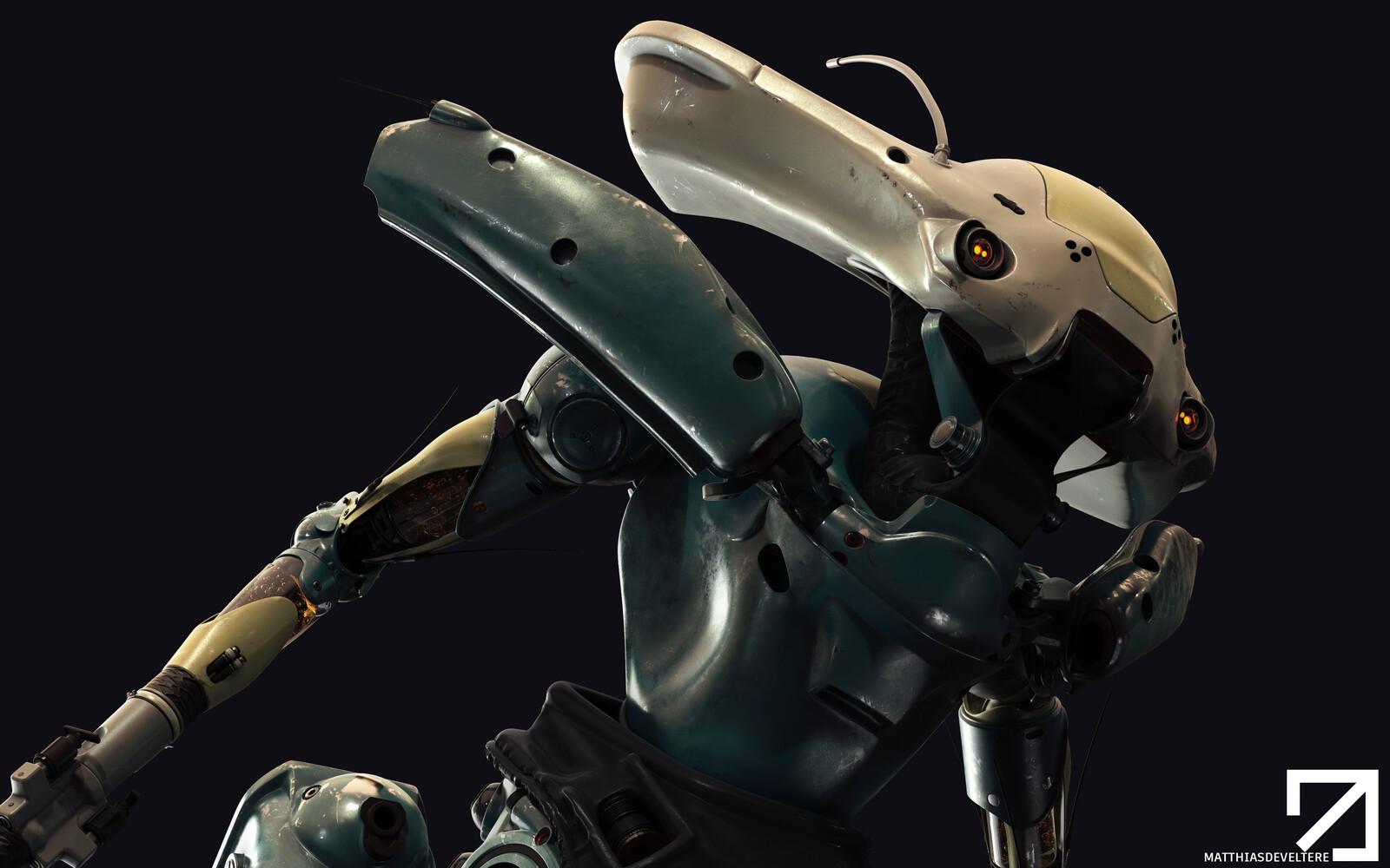 Herbi-Bot - HighPoly