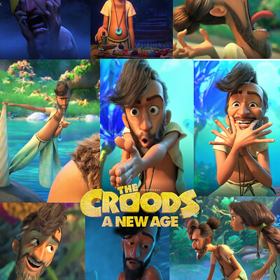 Croods A new age - Phil