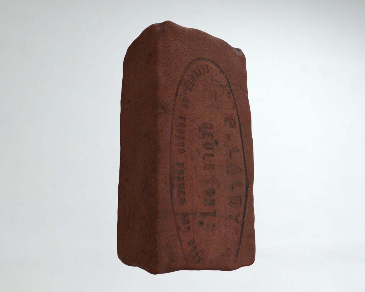 Dig Hill 80: Object 1277, Brick