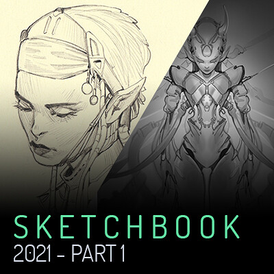Trudy wenzel trudy wenzel artstation preview sketchbook
