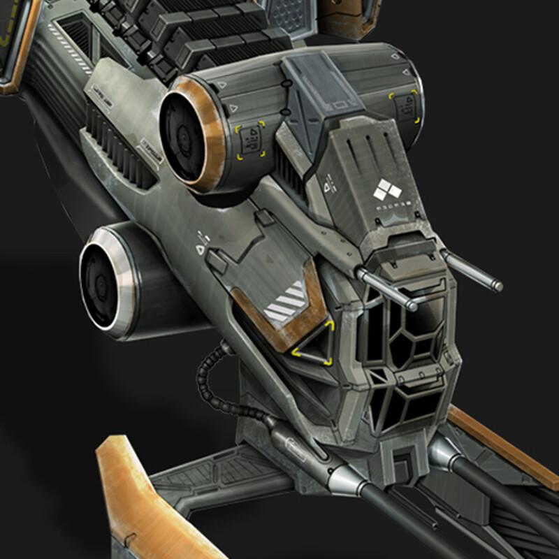 Gunship - Spacecraft Concept