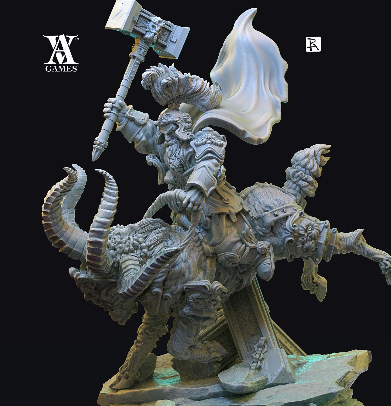 War Dwarfs-the four rider