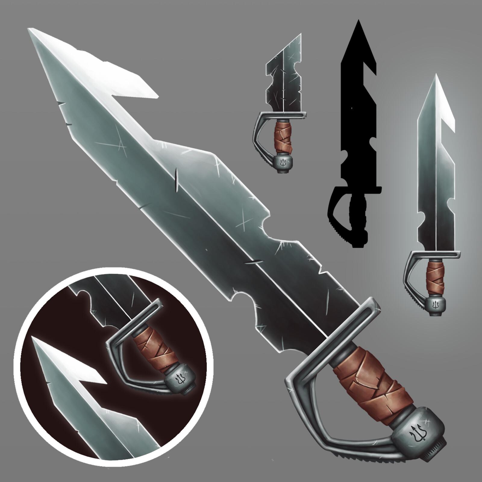 2D Sword Game Assets