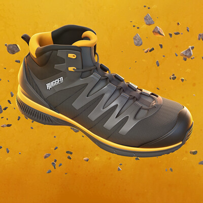 Rugged - Worker's Footwear Design
