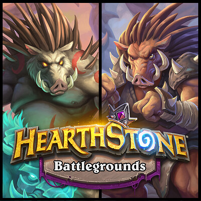Vladimir kafanov vladimir kafanov vladimir kafanov hearthstone quilboar preview