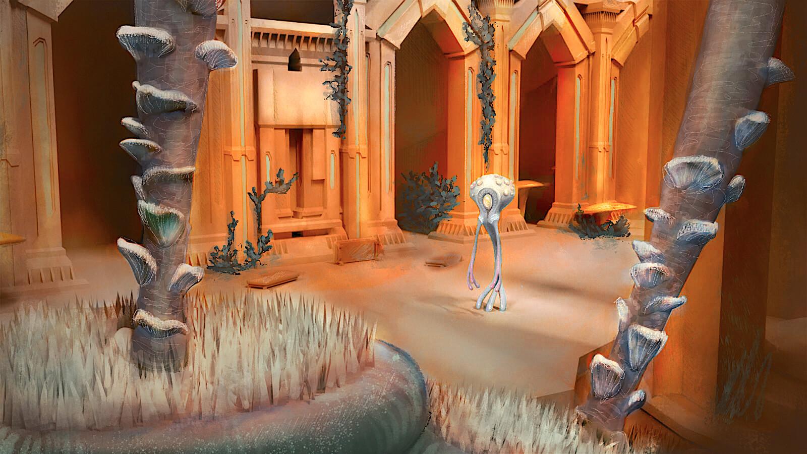 """""""Eidolon"""" Concepts (A Cross-platform, VR vs. PC Indie Game)"""