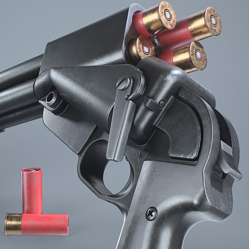 Liberator Mk3 Shotgun Prototype