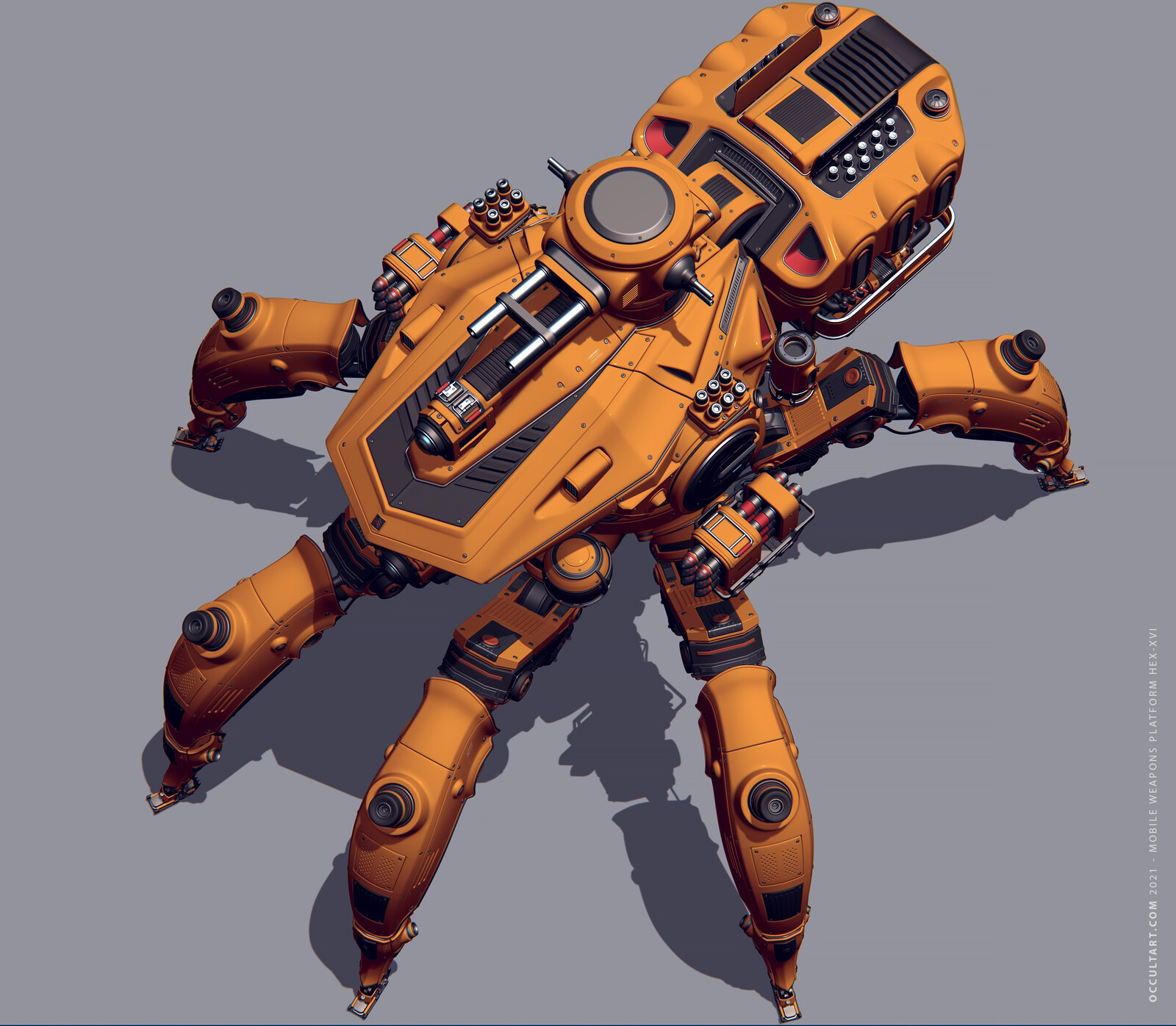 Weapons Platform HEX-XVI