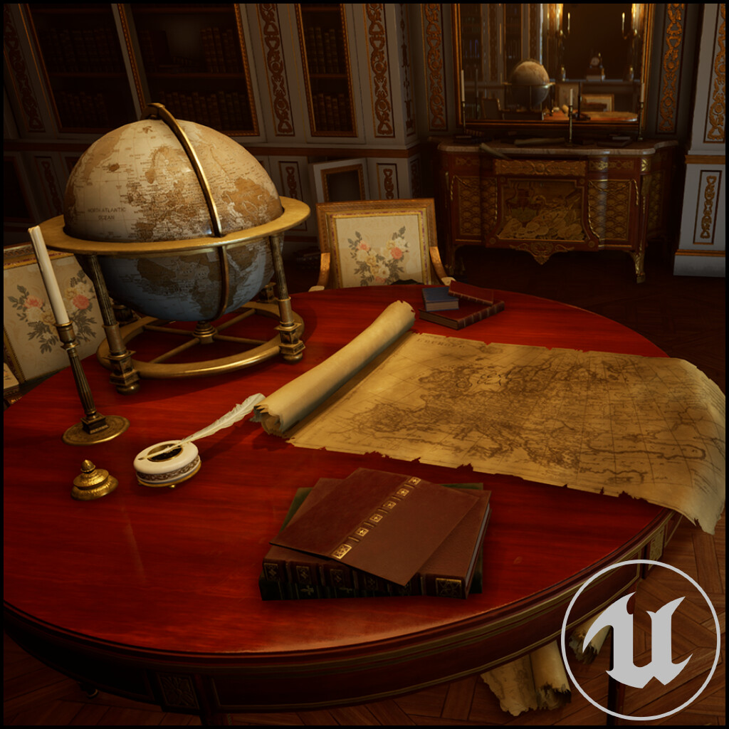 The Search - Versailles Library - UE4