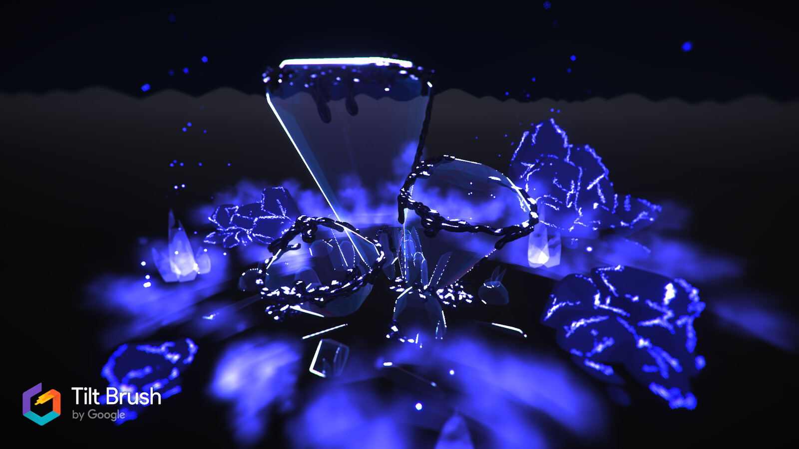 Cobalt Crystals